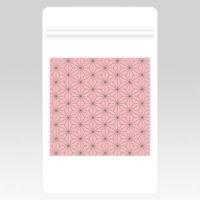 PL70638 伝統柄(麻の葉)チャック付き袋