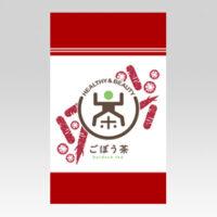 PL70682 健康茶 ごぼう茶 チャック付スタンドパック袋